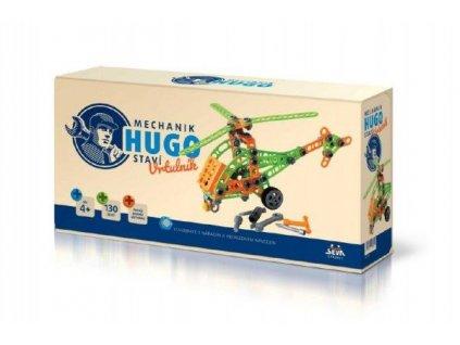 Mechanik-Hugo-stavi-Vrtulnik-Seva-stavebnice-s-naradim-130ks-plast-v-krabici-31x16x7cm-na-Deminas