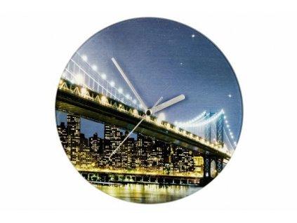 Nastenne-hodiny-WENKO-27cm---Brooklyn-Bridge-na-Deminas