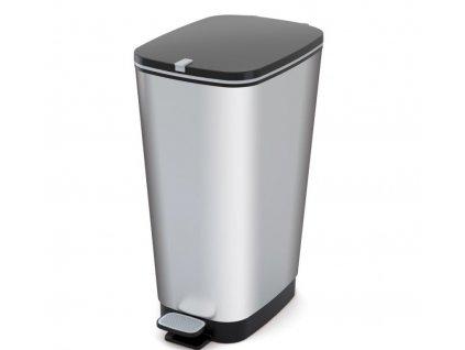 Odpadkovy-kos-CHIC-50-L---stribrny-na-Deminas