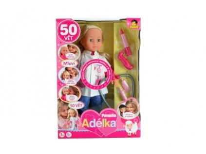 Panenka-Adelka,-50-vet,-doktorka,-40-cm-na-Deminas