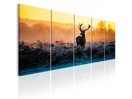 Petidilny-obraz---jelen-v-krajine---200x80-cm-na-Deminas