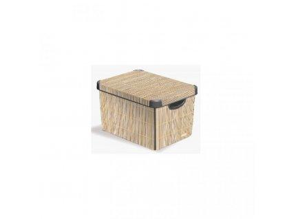 Box-DECO---S---Bamboo-CURVER-na-Deminas