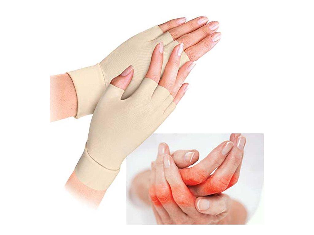 reumatickou rukavice