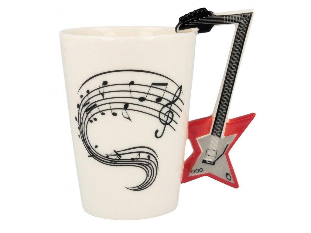 Gitarový-hrnček --- elektricka-gitara-na-Deminas