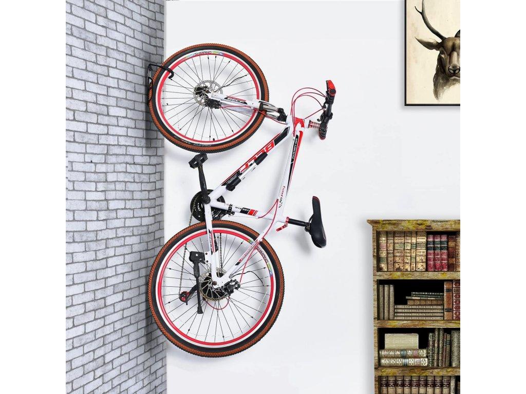 drziak bicykla na stenu