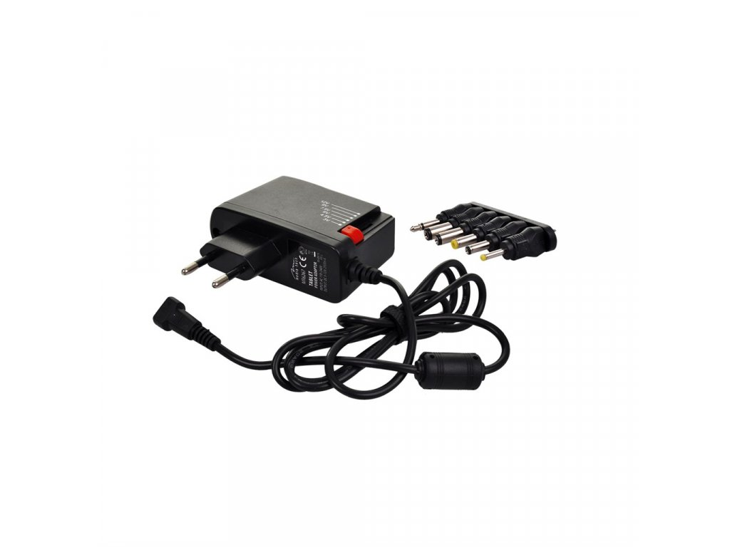 15287 2 Solight univerzalne sietovy adapter 600mA stabilizovaný Výmenné konektory
