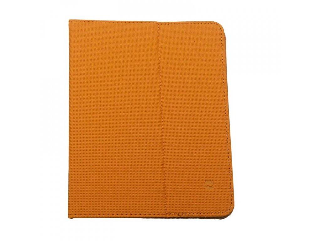 15269 2 Solight univerzalne puzdro dosky z polyuretánu pre tablet alebo cítacku 8 oranzove