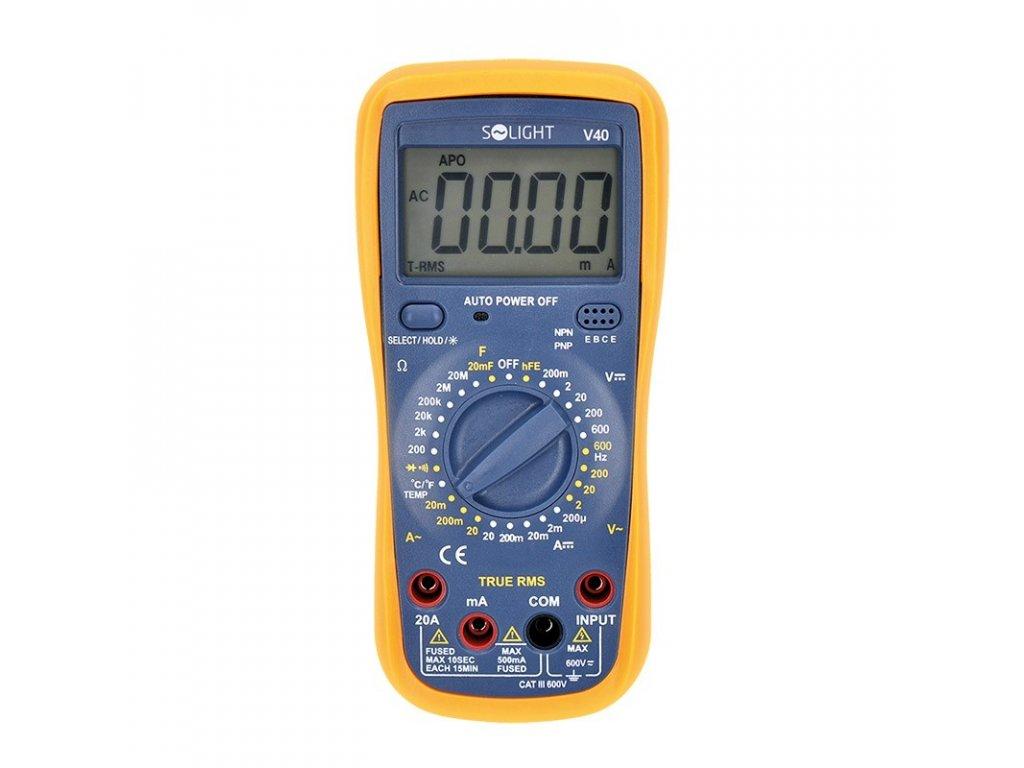 15536 3 Solight profesionalne multimeter true rms
