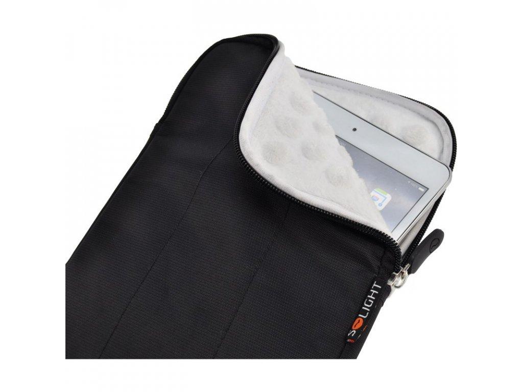 15194 2 Solight nylonové puzdro na tablet e cítacku do 8 širokouhlé nárazuvzdorné polstrovaná cierne