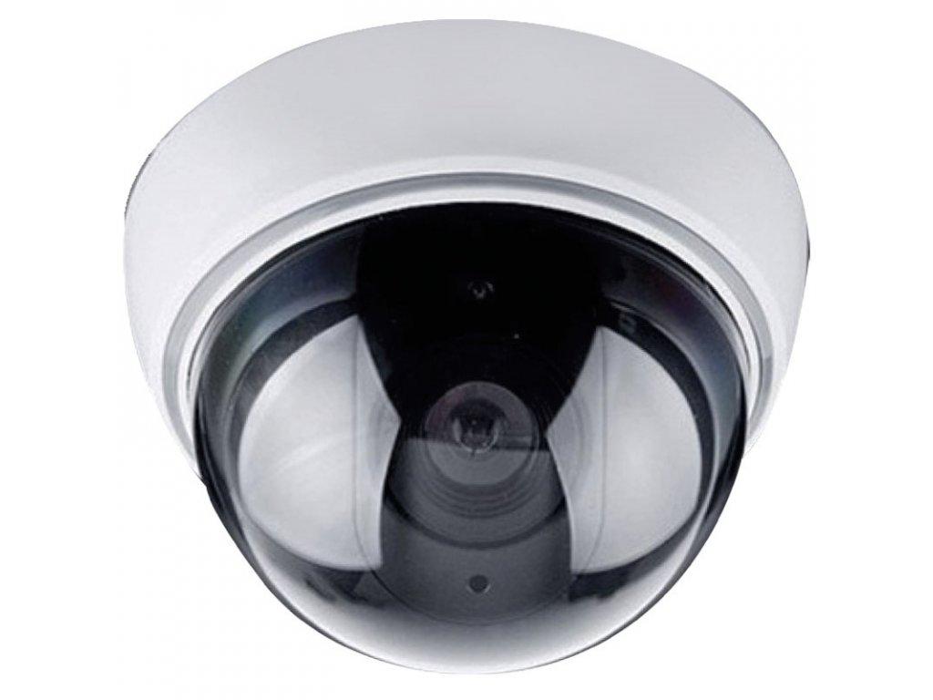 14648 maketa bezpecnostna kamery na stenu led dióda 2 x aa