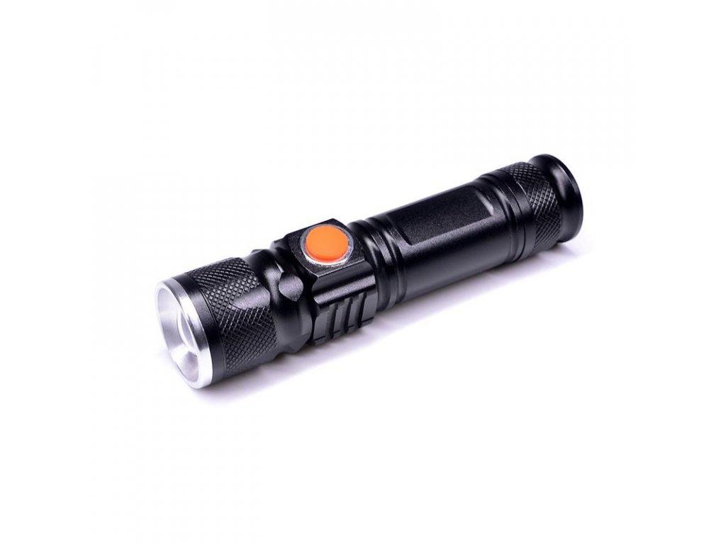 15581 Solight LED vreckové Nabíjacie svietidlo 3w 200l usb ak ion