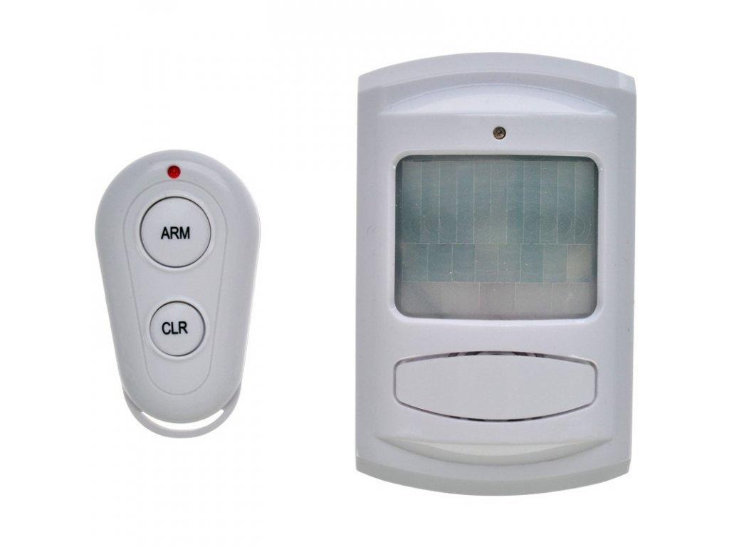 15083 2 Solight gsm alarm pohybový senzor diaľku ovl bili