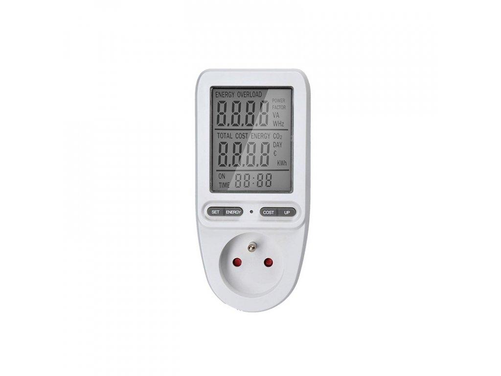 15356 3 Solight digitálny merač spotreby el energie velky displej