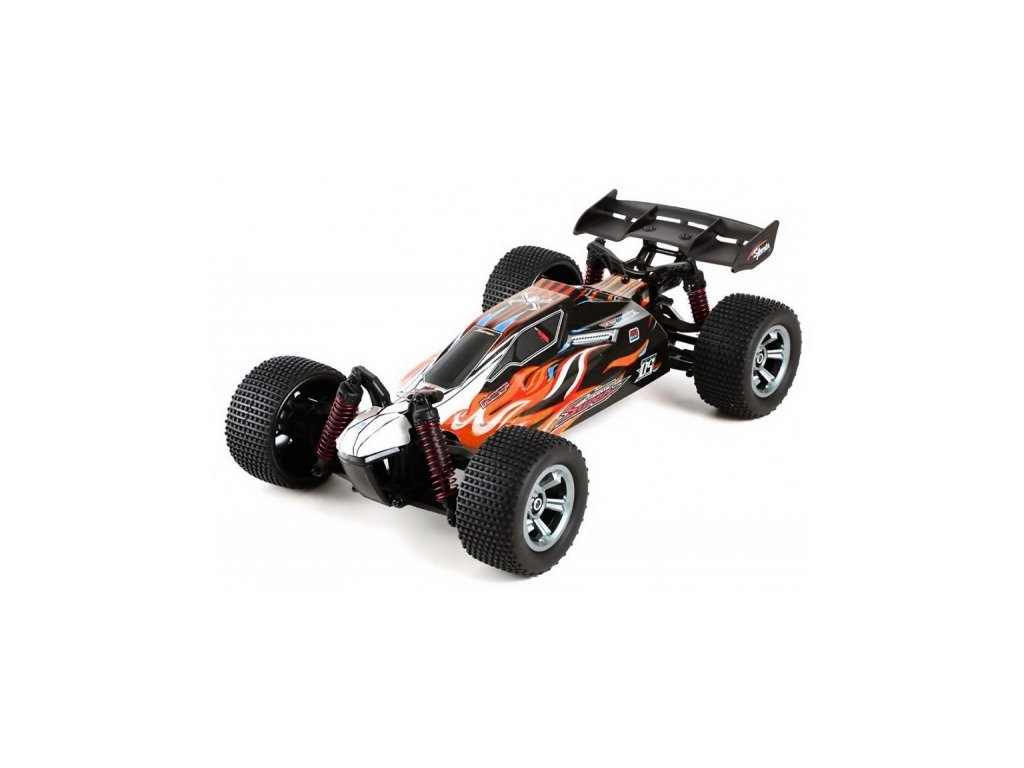 OFF-ROAD-COMPETITION-BUGGY-2WD-1: 12-2.4GHz-RTR --- cervena-na-Deminas
