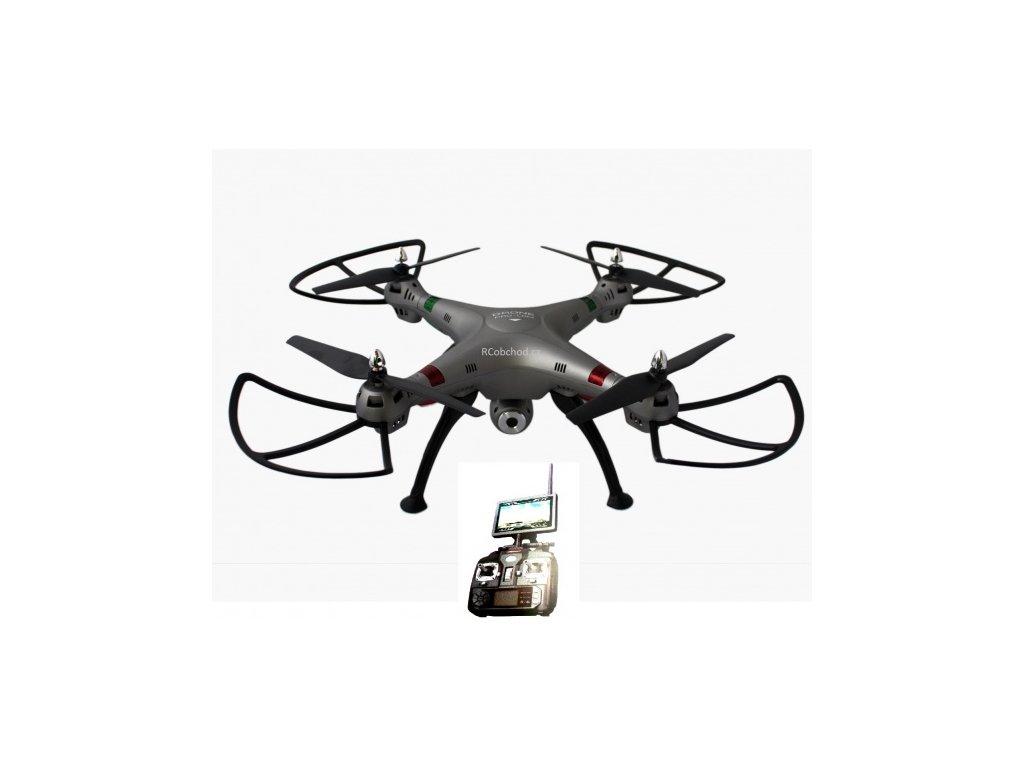 K800FPV --- RC-dron-s-online-prenosom-na-obrazovku-vysielačov-na-Deminas