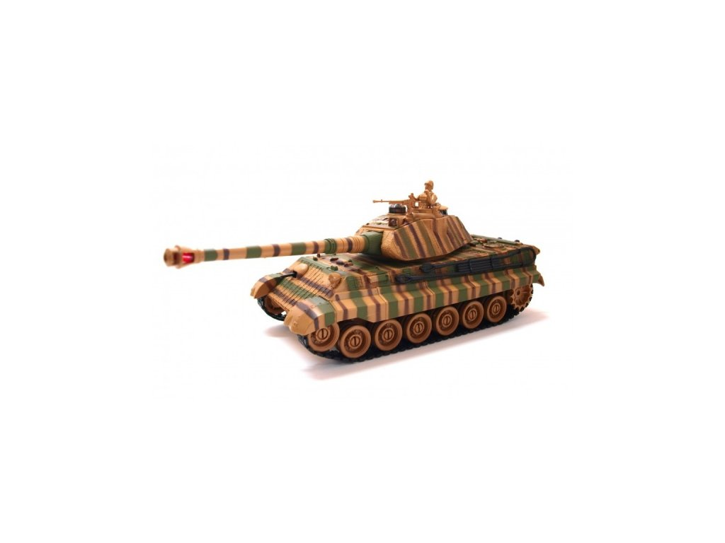 German-King-Tiger-v2-1: 28-2.4GHz-RTR-na-Deminas
