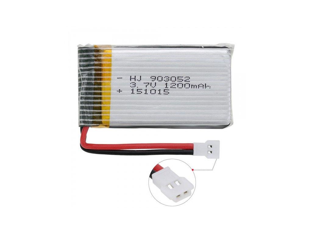 1200mAh-3,7V-Akumulator-pre-X5Csw, -X5Cs, -x5sw-alebo-x5sc-na-Deminas