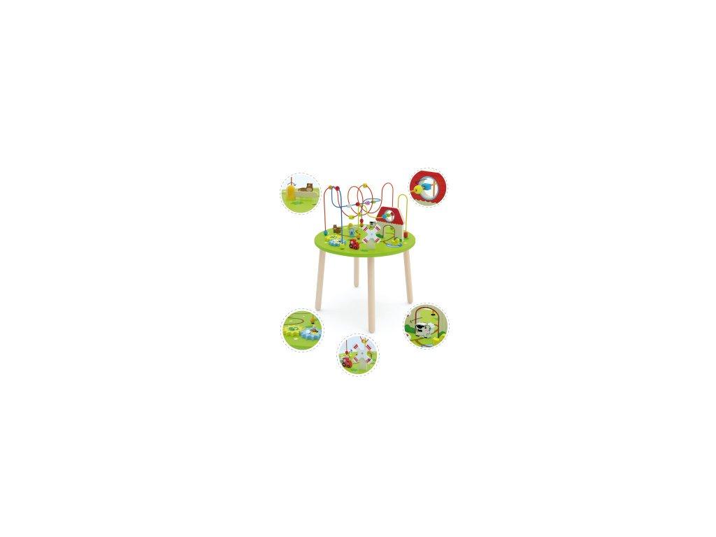 Dreveny-hraci-stolík-na-Deminas