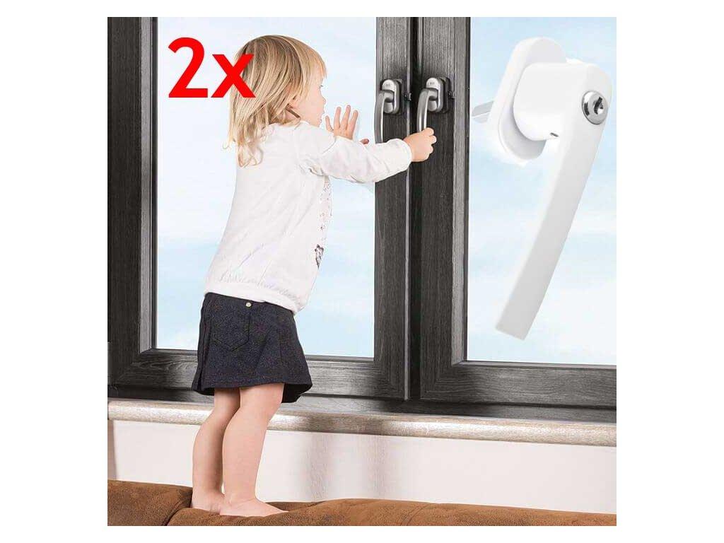klucka na okna so zamkom 2x