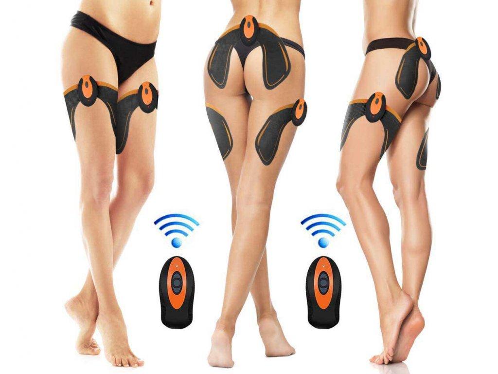 Unikátny elektrický posilňovač svalov zadku, stehien a bokov