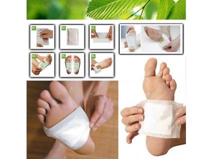 detoxikácia nôh a postihnutých miest