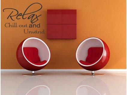 Dekoratívna-nalepka-na-stenu --- RELAX-AND-CHILL-OUT-na-Deminas