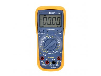 15536 ​​3 Solight profesionalne multimeter true rms