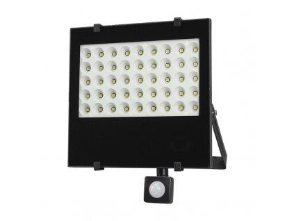15509 2 Solight ľad vonkajsi reflektor 50w 4250lm ac 230v so senzorom cierna