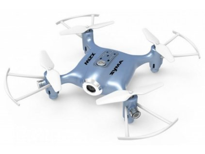 Syma-X21W-2,4GHz --- mini-dron-s-barometrom-a-WIFI-kamerou --- modry-na-Deminas