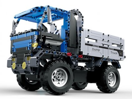 Stavebnica-Dump-Truck --- auto-na-diaľkovo-ovladani-na-Deminas