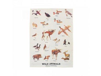 12671 utierka s divokou zveri
