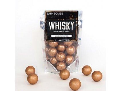 14996 3 šumivú gule do kúpeľa whisky 10 ks