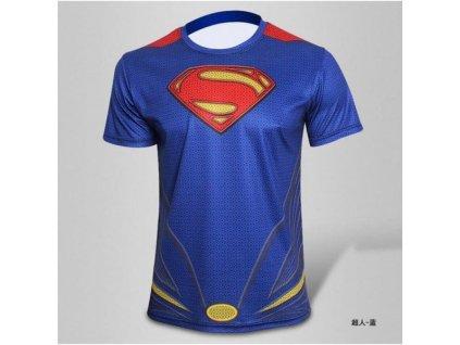 Športové tričko - Superman - Veľkosť (Varianta L)