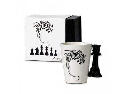 Šachový hrnček (Variant Kráľovná)