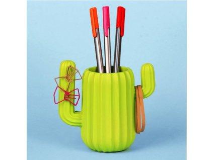 11711 stojanček na ceruzky kaktus