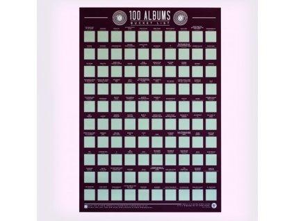 11666 Stieracie plakať 100 najlepsich albumov bucket list