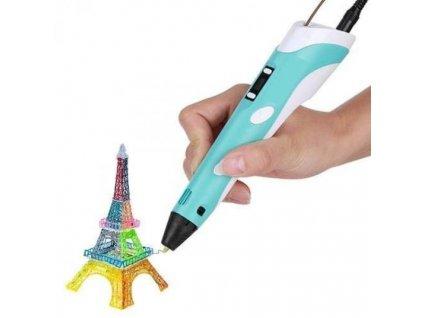Profesionálny 3D pero s LCD displejom (Farba Žltá)