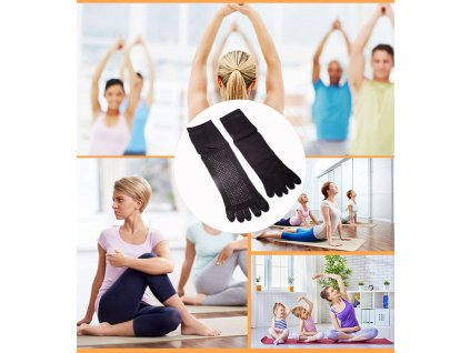ponozky na jogu