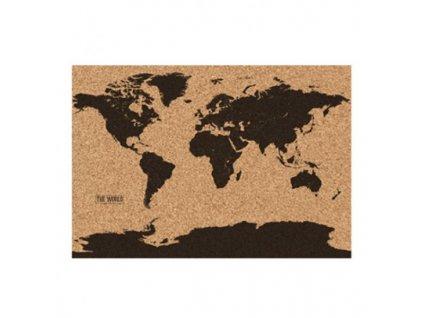 korkový mapa