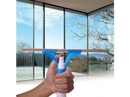 stierka na umývanie okien s rozprašovačom