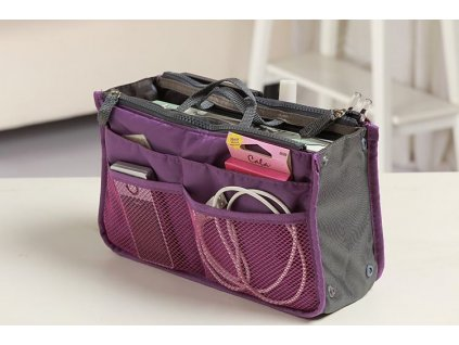 Organizer-do-kabelky --- fialovy-na-Deminas