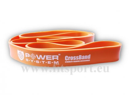 9756 posilovacia guma cross band 2 orange