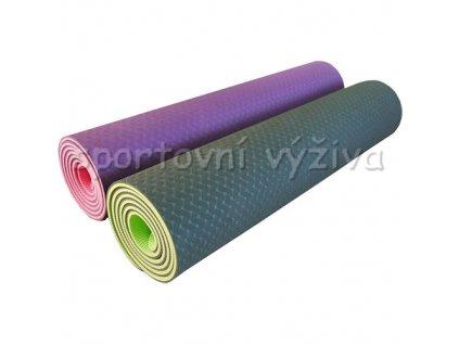 Cvičebný podložka YOGA MAT (Variant PREMIUM-pink)
