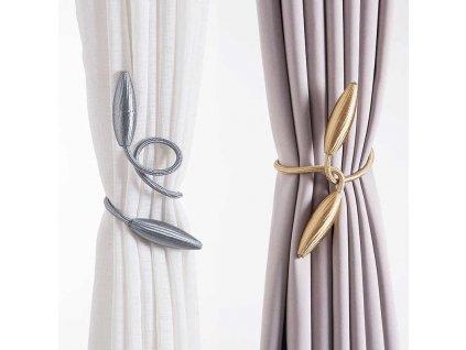 spony luxusne na zavesy