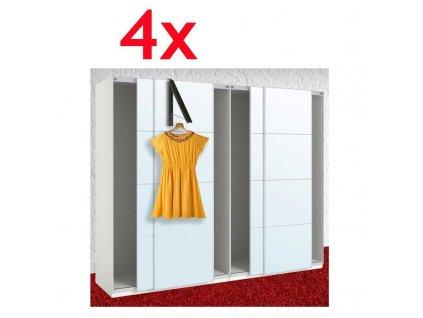 vesiak na dvere 4x