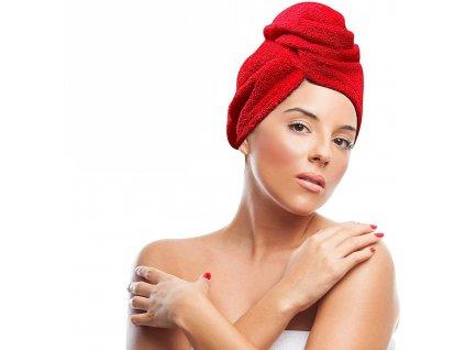 Ručník na najrýchlejšie vysušenie vlasov - turban na vlasy - TROJBALENE