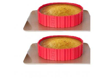 silikonova forma na tortu 2x