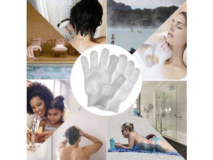 peelingove rukavice
