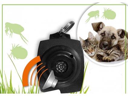 odpudzovac na obojok pre macky a psy