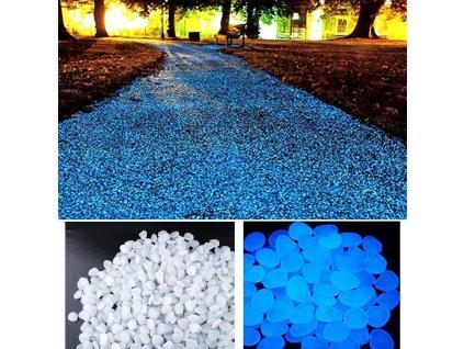 jedinecne svietiace kamene
